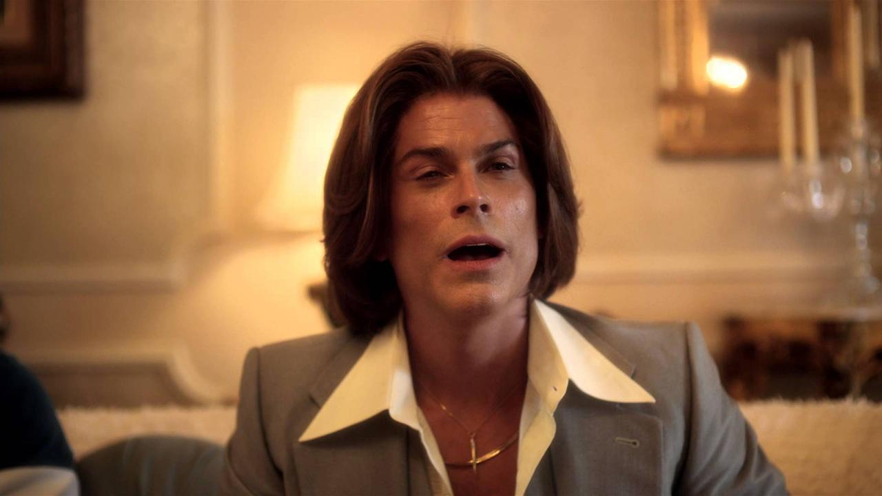 Rob Lowe appears in a scene from the 2013 HBO film Behind The Candelabra.