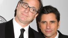 Full House alums Bob Saget and John Stamos poses for photos at the Friars Club event honoring legendary insult comic Don Rickles, 87, at the Waldorf Astoria in New York on Monday, June 24, 2013.