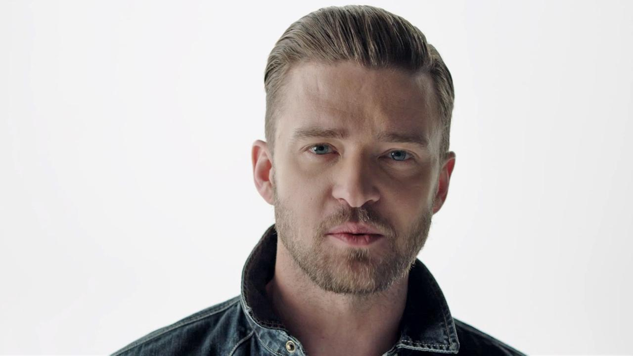 Justin Timberlake appears in a scene from the July 2013 video Tunnel Vision.