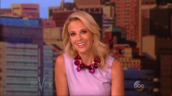 Elisabeth Hasselbeck appears on the ABC show The View for the last time as a regular co-host on July 10, 2013. She is set to move to Fox News to become a co-host of Fox and Friends in September. - Provided courtesy of ABC