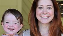Alyson Hannigan and daughter Keeva are seen at the Course Of The Force 2013, an Epic Lightsaber Relay, benefiting the Make-A-Wish Foundation, at Star Wars creator George Lucas Skywalker Ranch in California on July 9, 2013. - Provided courtesy of Steve Jennings / WireImage