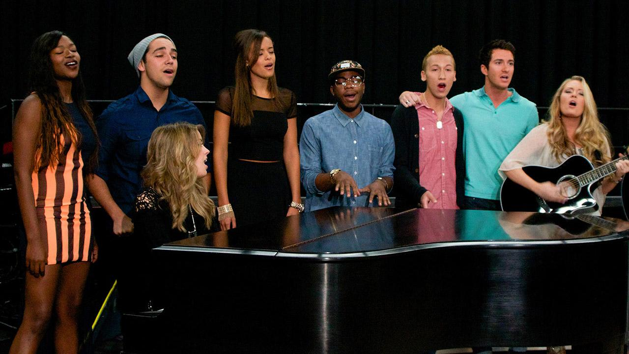 The 11 American Idol season 12 singers appear at a rehearsal for the American Idol LIVE! 2013 summer tour in Burbank, California on July 9, 2013. <span class=meta>(Aaron Frank &#47; OTRC)</span>