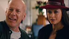 Bruce Willis and Catherine Zeta-Jones appear in a scene from the 2013 movie RED 2. The film also stars Helen Mirren, Anthony Hopkins, John Malkovich and Mary-Louise Parker. - Provided courtesy of OTRC
