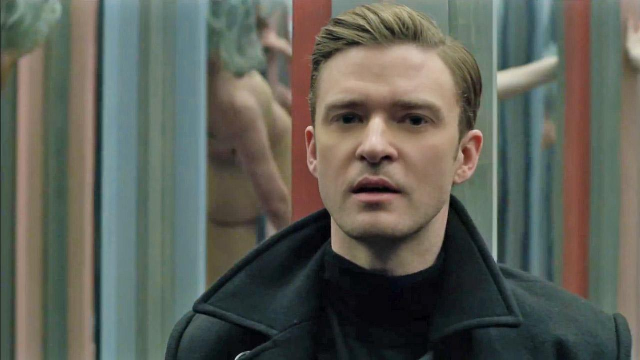 Justin Timberlake appears in a scene from the 2013 music video for the single Mirrors.