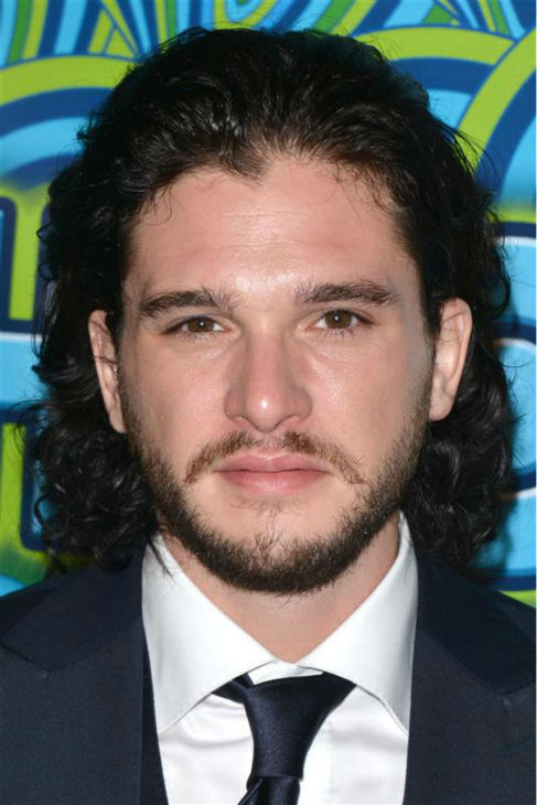 "<div class=""meta ""><span class=""caption-text "">The 'Jon-Snow-Knows-Nothing-At-HBO's-Post-Emmy Awards-Reception' stare. ('Game of Thrones' star Kit Harington appears at the event in Los Angeles on Sept. 22, 2013. Watch a VIDEO of OTRC.com's interview with Harington at the event.) (Tony DiMaio / Startraksphoto.com)</span></div>"