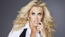 Jenny McCarthy appears in an undated promotional photo for her 2013 talk show The Jenny McCarthy Show. - Provided courtesy of VH1
