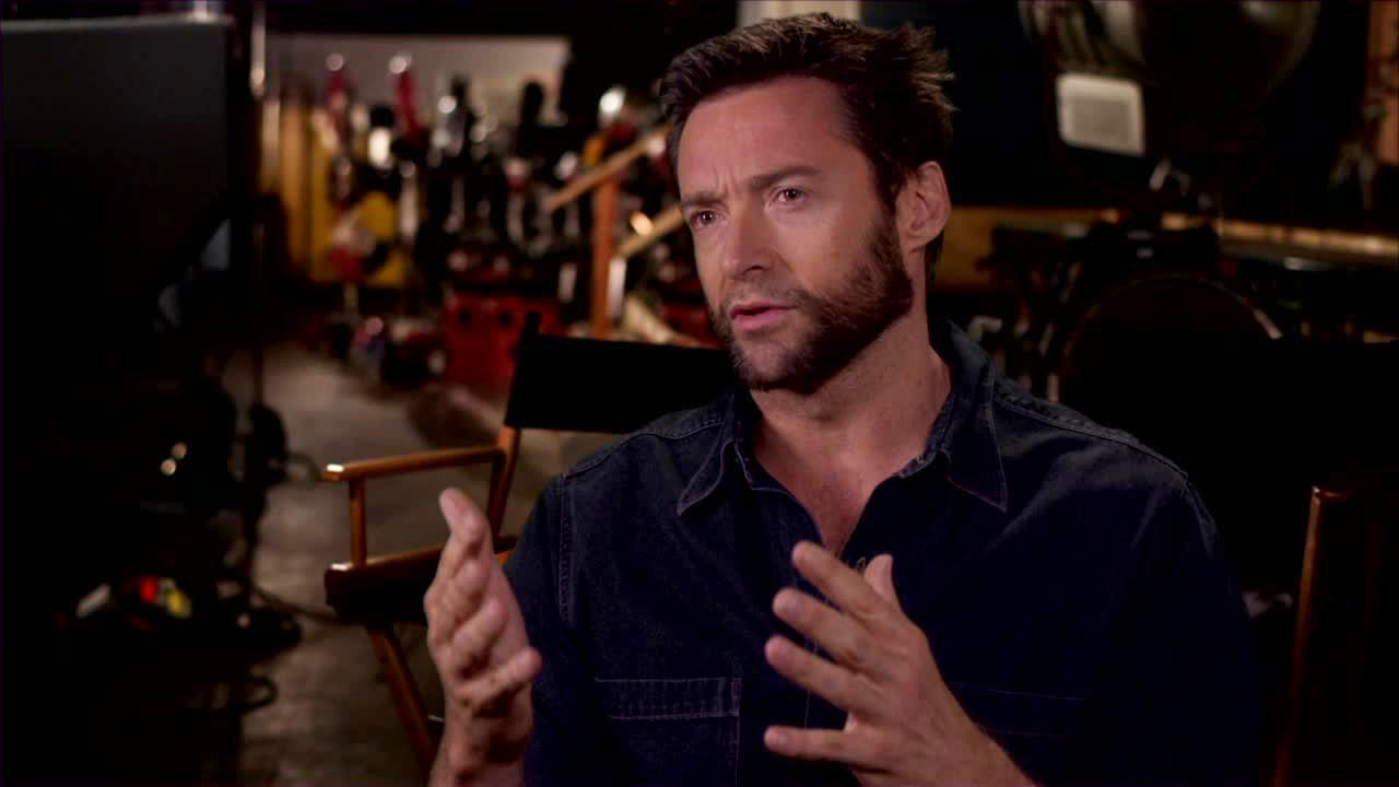 Hugh Jackman appears in an undated 2013 interview for The Wolverine provided by 20th Century Fox.