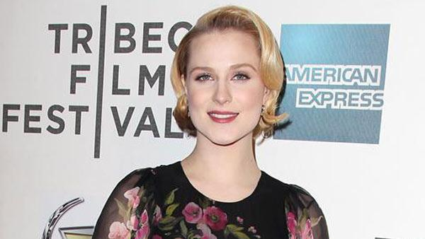 Evan Rachel Wood appears at the 2013 Tribeca Film Festival World Premiere of 'A Case of You' on April 21, 2013.
