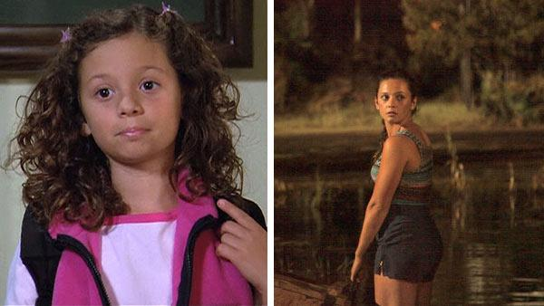 Mackenzie Rosman appears in a scene from 7th Heaven, which aired on the WB and CW between 1996 and 2007. / Mackenzie Rosman appears as Ava in a scene from the SyFy Original Movie Ghost Shark, which premieres on the cable channel on Aug. 22, 2013. - Provided courtesy of Spelling Television / SyFy
