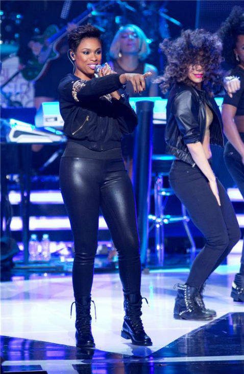 "<div class=""meta ""><span class=""caption-text "">Jennifer Hudson performs at BET's 2013 Black Girls Rock event at the New Jersey Performing Arts Center in Newark, New Jersey on Oct. 26, 2013. (Marcus Owen / Startraksphoto.com)</span></div>"