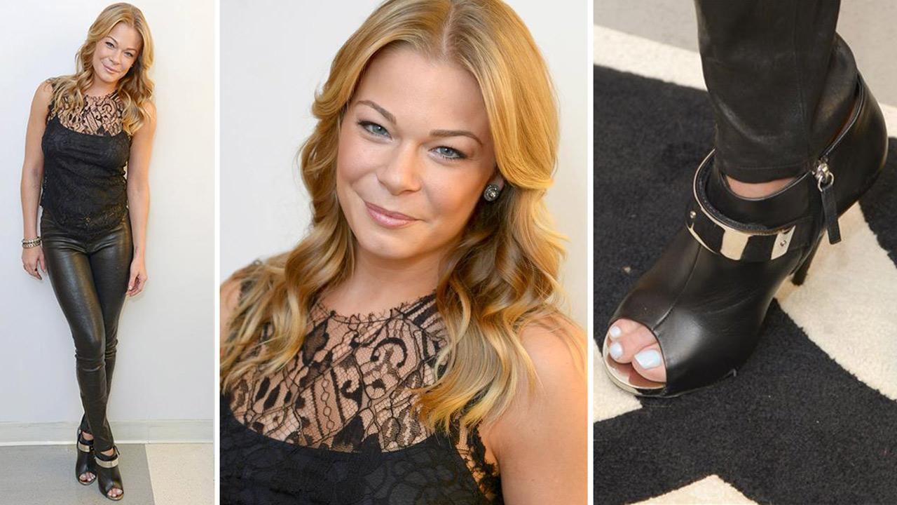 LeAnn Rimes poses for a publicity photo shoot on Aug. 1, 2013.