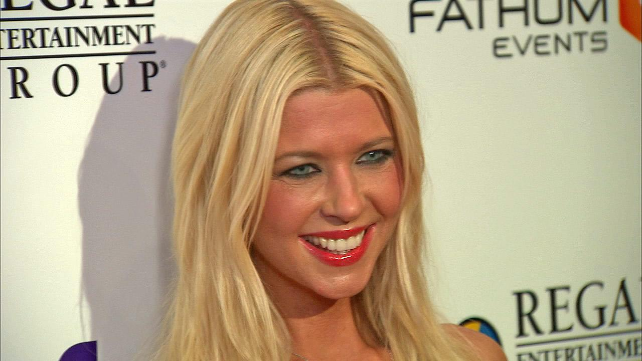 Tara Reid talks to OTRC.com at the premiere of Sharknado on Aug. 2, 2013. The film aired on SyFy in July and was widely praised -- and mocked -- on Twitter. It was screened in select theaters on the night of the premiere.