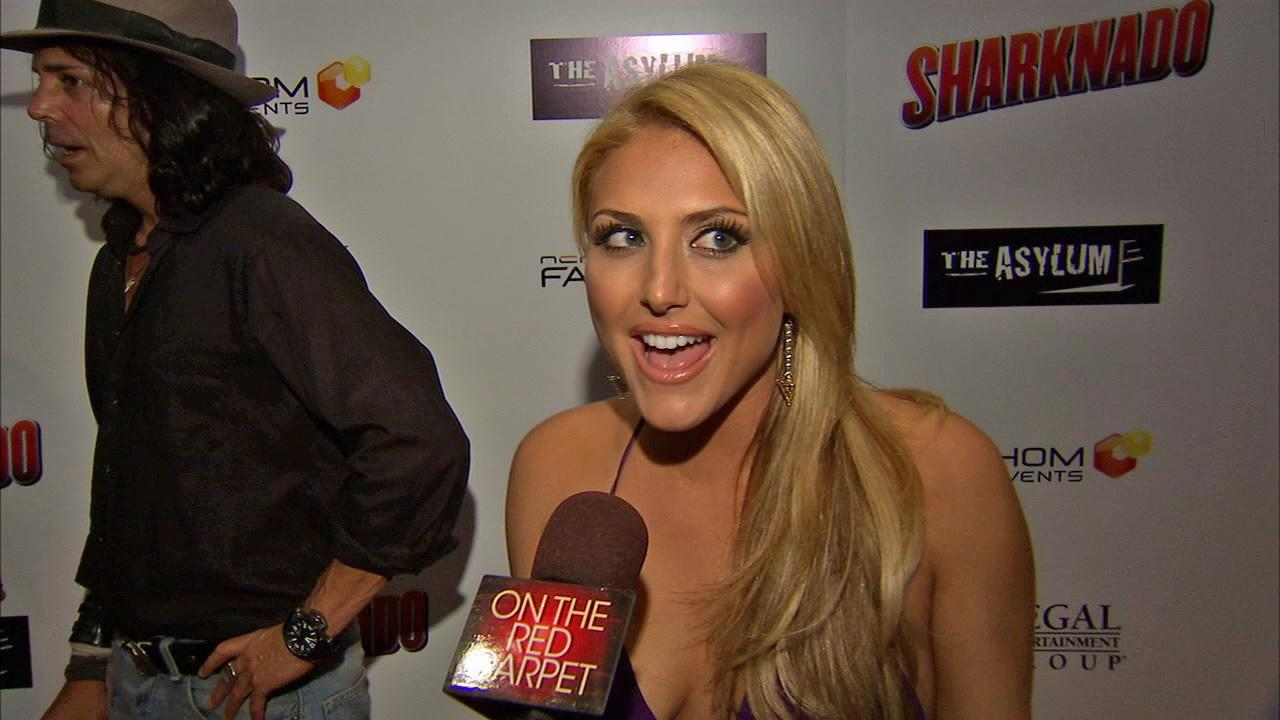 Cassie Scerbo talks to OTRC.com at the premiere of Sharknado on Aug. 2, 2013. The film aired on SyFy in July and was widely praised -- and mocked -- on Twitter.