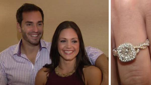 Desiree Hartsock and Chris Siegfried talk to WABC Television on Aug. 6