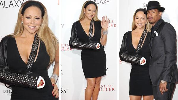 Mariah Carey wears black dress, studded sling to Butler premiere - Provided courtesy of OTRC / Kristina Bumphrey/ startraksphoto.com