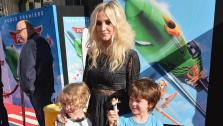 Ashlee Simpson, son Bronxi Mowgli and a guest attend the premiere of Disneys Planes film at the El Capitan Theatre in Hollywood, California on Aug. 5, 2013. - Provided courtesy of Alberto E. Rodriguez / WireImage for Walt Disney Studios