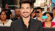 Adam Lambert appears at the New York premiere of World War Z on June 17, 2013. - Provided courtesy of Amanda Schwab /Startraksphoto.com