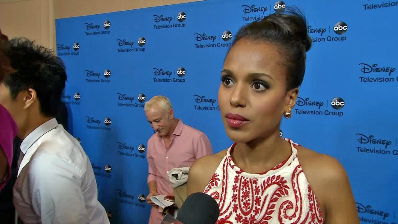 Kerry Washington appears in an interview with OTRC.com on Aug. 4, 2013.