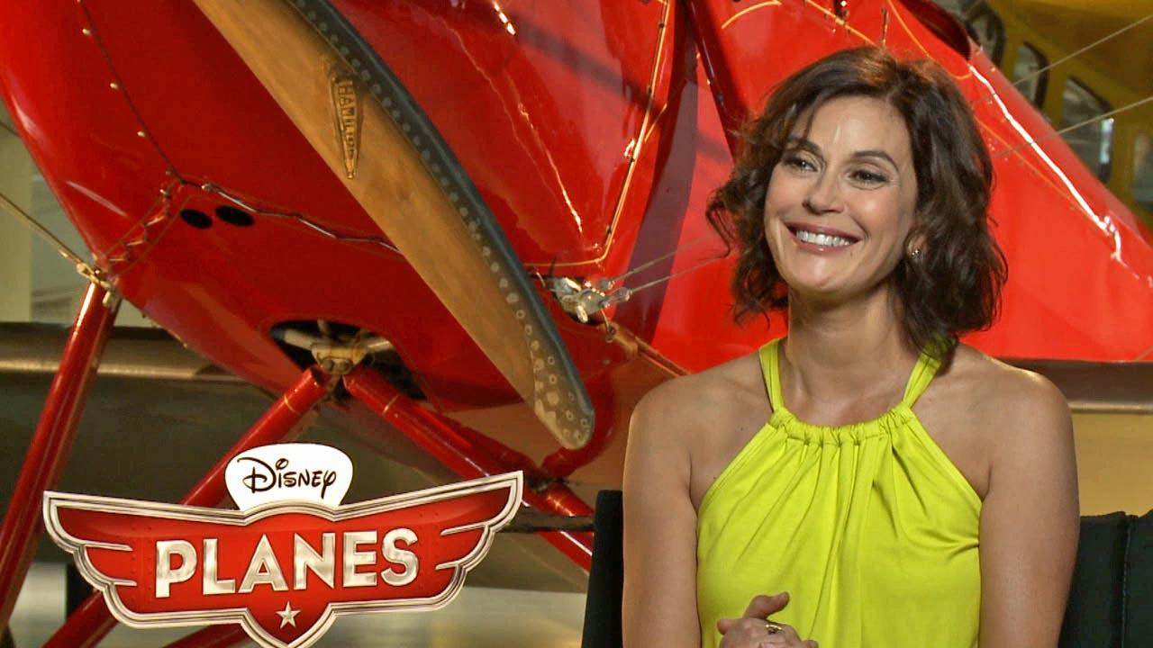 Actress Teri Hatcher spoke to On The Red Carpet about her upcoming voice-over role as Dottie in the Disney anitmated film Planes, in theaters Aug. 16, 2013.