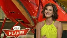 Actress Teri Hatcher spoke to On The Red Carpet about her upcoming voice-over role as Dottie in the Disney anitmated film Planes, in theaters Aug. 16, 2013. - Provided courtesy of OTRC / OTRC