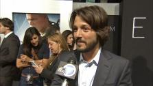 Actor Diego Luna spoke to OTRCs George Pennacchio about starring in the new sci-fi film Elysium, in theaters Aug. 9, 2013.  - Provided courtesy of OTRC / OTRC