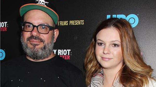 David Cross and Amber Tamblyn appear at the premiere screening of PUSSY RIOT: A PUNK PRAYER on June 4, 2013. - Provided courtesy of Dave Allocca/Startraksphoto.com