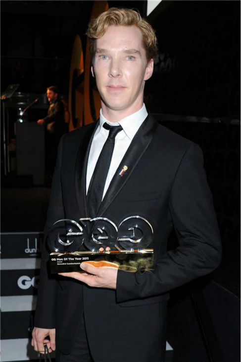 Benedict Cumberbatch appears at the 2011 GQ Men of the Years Awards in London on Sept. 6, 2011. <span class=meta>(Richard Young &#47; Startraksphoto.com)</span>