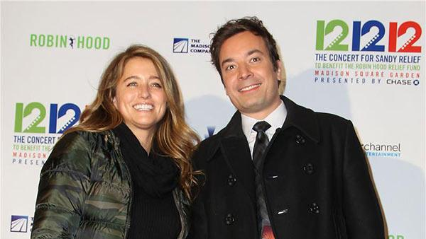 Jimmy Fallon and Nancy Juvonen attend the 12-12-12 The Concert for Sandy Relief to benefit the Robin Hood Relief Fund at Madison Square Garden in New York on Dec. 12, 2012. - Provided courtesy of Amanda Schwab / Startraksphoto.com