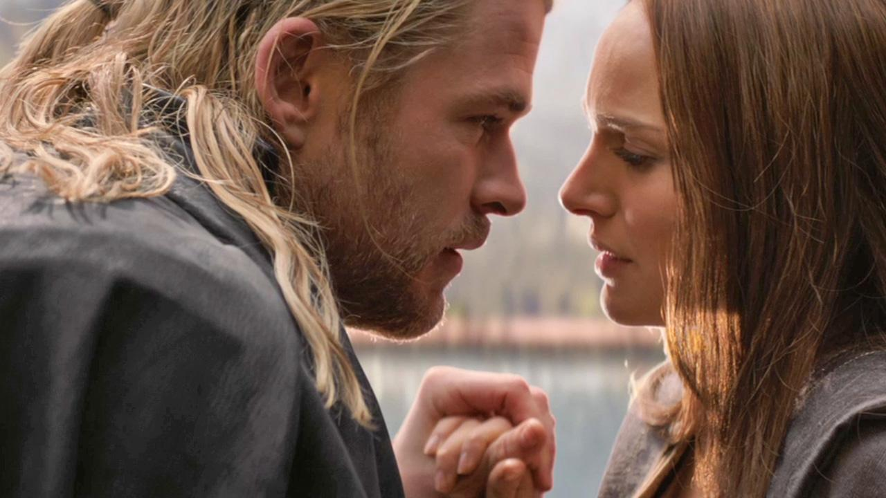 Chris Hemsworth and Natalie Portman appear in a scene from the 2013 movie Thor: The Dark World.Marvel Studios / Walt Disney Studios