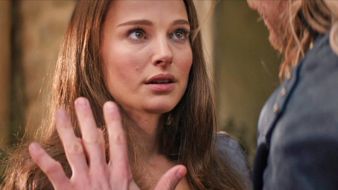 Natalie Portman appears in a scene from the 2013 movie Thor: The Dark World.Marvel Studios / Walt Disney Studios