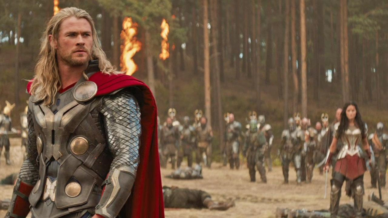 Chris Hemsworth appears in a scene from the 2013 movie Thor: The Dark World.Marvel Studios / Walt Disney Studios