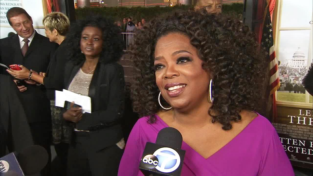 Oprah Winfrey appears in an interview with OTRC.com at the premiere of Lee Daniels The Butler on Aug. 12, 2013.