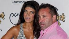 Teresa Giudice and husband and Real Housewives of New Jersey co-star Giuseppe Joe Giudice appear at the Pangaea nightclub at the Hard Rock Hotel and Casino in Hollywood, Florida on Aug. 11, 2013. - Provided courtesy of Paul Emmans / startraksphoto.com