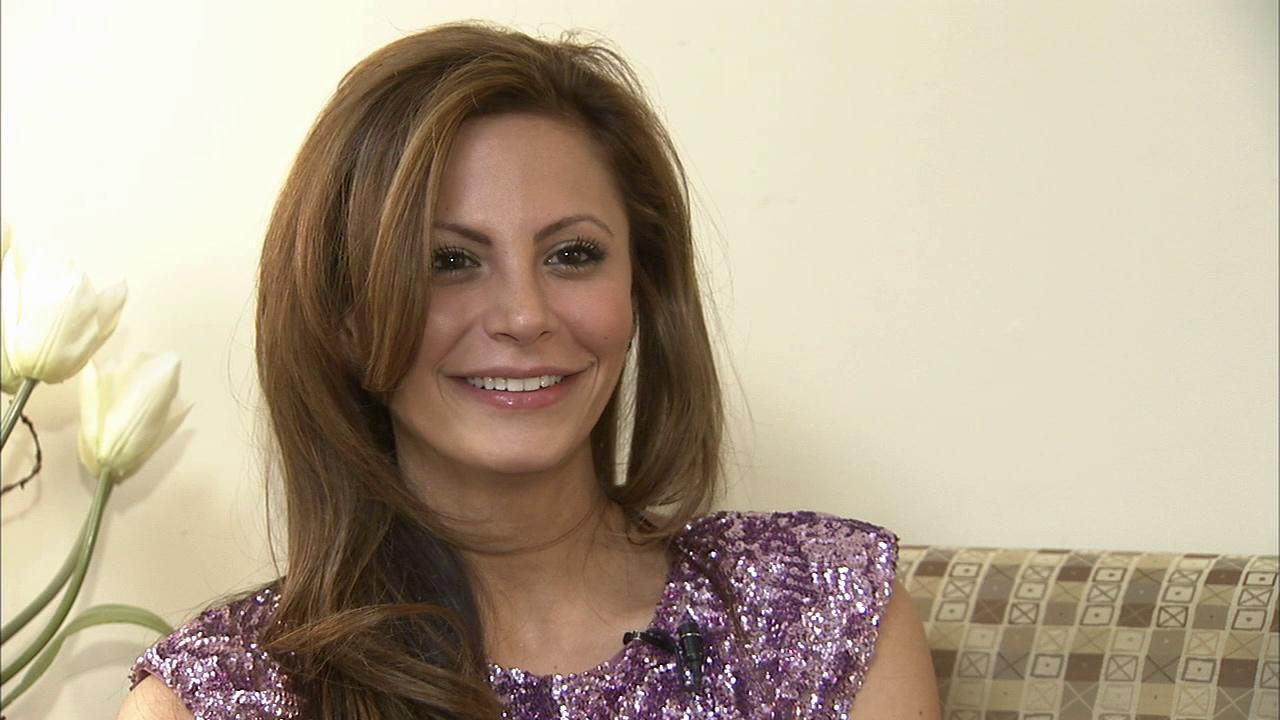 Bachelor contestant Gia Allemand talks to OTRC.com in August 2010. She was hospitalized on Aug. 12, 2013 in New Orleans for an undisclosed ailment.
