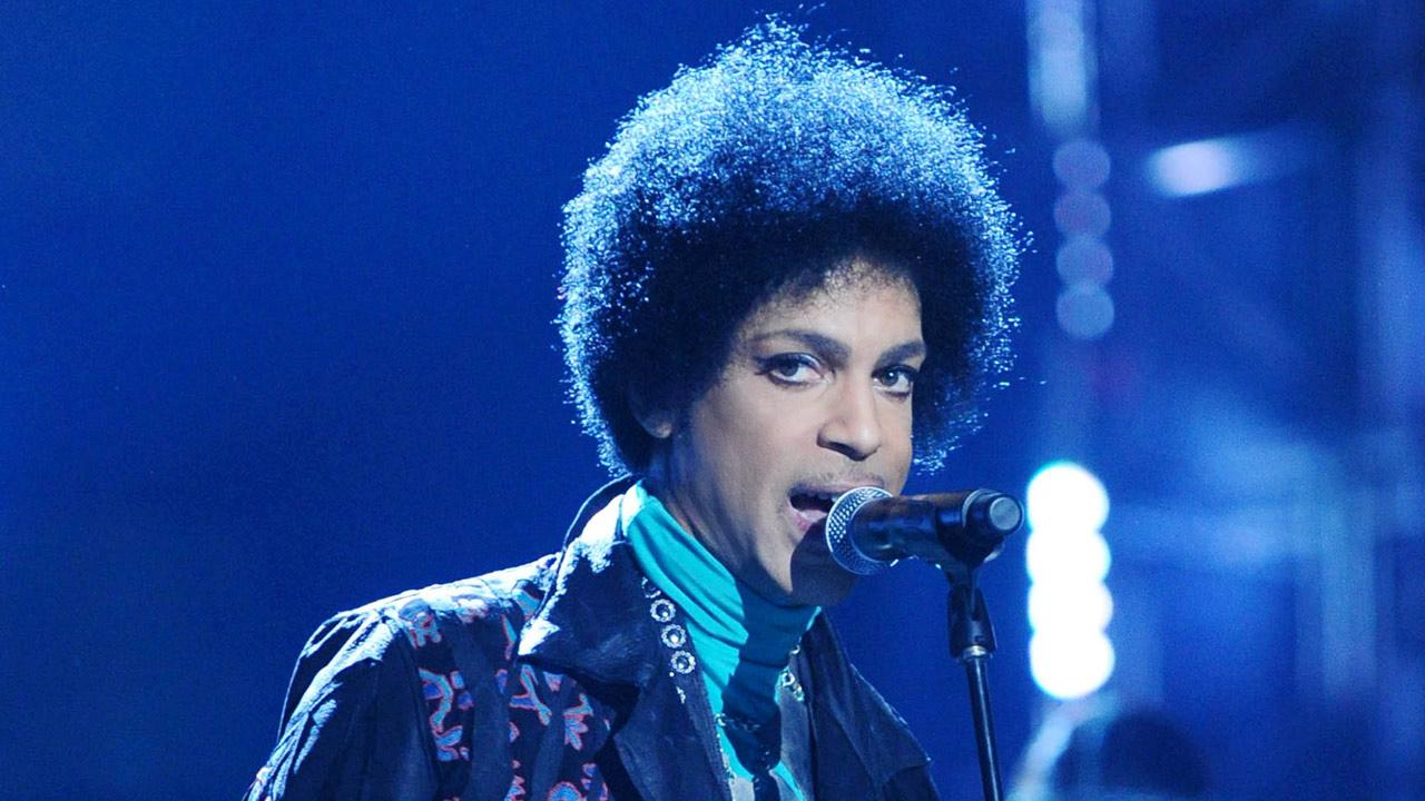 Prince appears at the 2013 Billboard Music Awards on May 19, 2013.