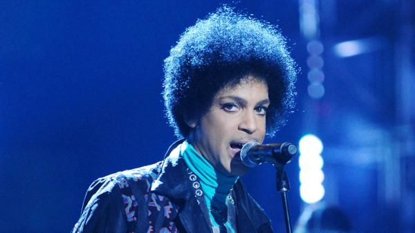 Prince appears at the 2013 Billboard Music Awards on May 19, 2013. - Provided courtesy of Michael Simon/STARTRAKS PHOTO via ABC