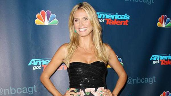 Heidi Klum appears at an Americas Got Talent post-show celebration at Radio City Music Hall in New York City on Aug. 14, 2013. She is one of four judges on the NBC show. - Provided courtesy of Kristina Bumphrey / Startraksphoto.com