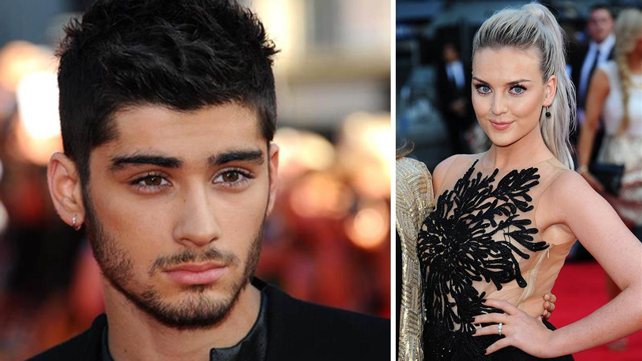 Zayn Malik and Perrie Edwards appear at the premiere of One Direction: This Is Us in London on Tuesday Aug. 20, 2013. Edwards is wearing an engagement ring.Anthony Harvey / Startraksphoto.com