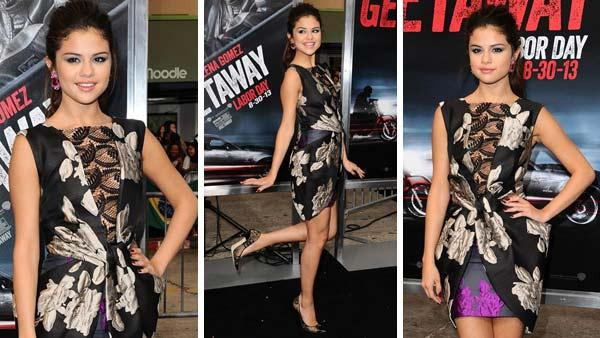 Selena Gomez appears at the L.A. premiere of her new action film Getaway. - Provided courtesy of Sara De Boer / startraksphoto.com