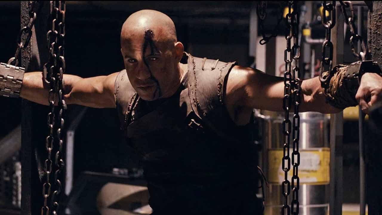 Clip from Riddick starring Vin Diesel