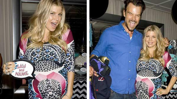 Fergie and Josh Duhamels baby shower at the SLS Hotel in Los Angeles, California on July 28, 2013. - Provided courtesy of Justin Campbell / Startraksphoto.com