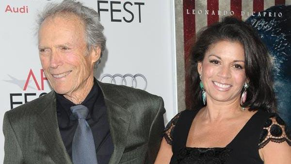 Clint Eastwood and wife Dina appear at the AFI Fest 2011 Opening Night Gala World Premiere Of 'J. Edgar' on Nov. 3, 2011.