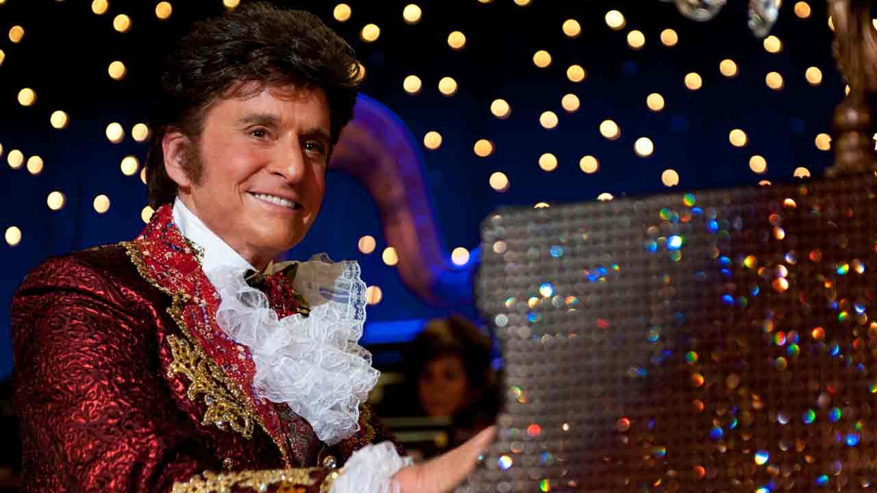 Matt Damon appear in a promotional still from the HBO movie Behind The Candelabra.