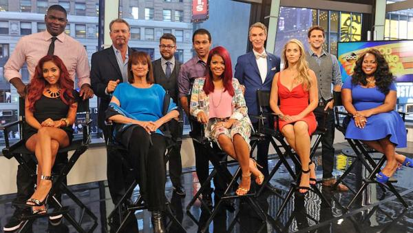 The new cast of Dancing With the Stars season 17 poses for a photo after their identities were revealed on Good Morning America on Wednesday, Sept. 4, 2013. - Provided courtesy of ABC