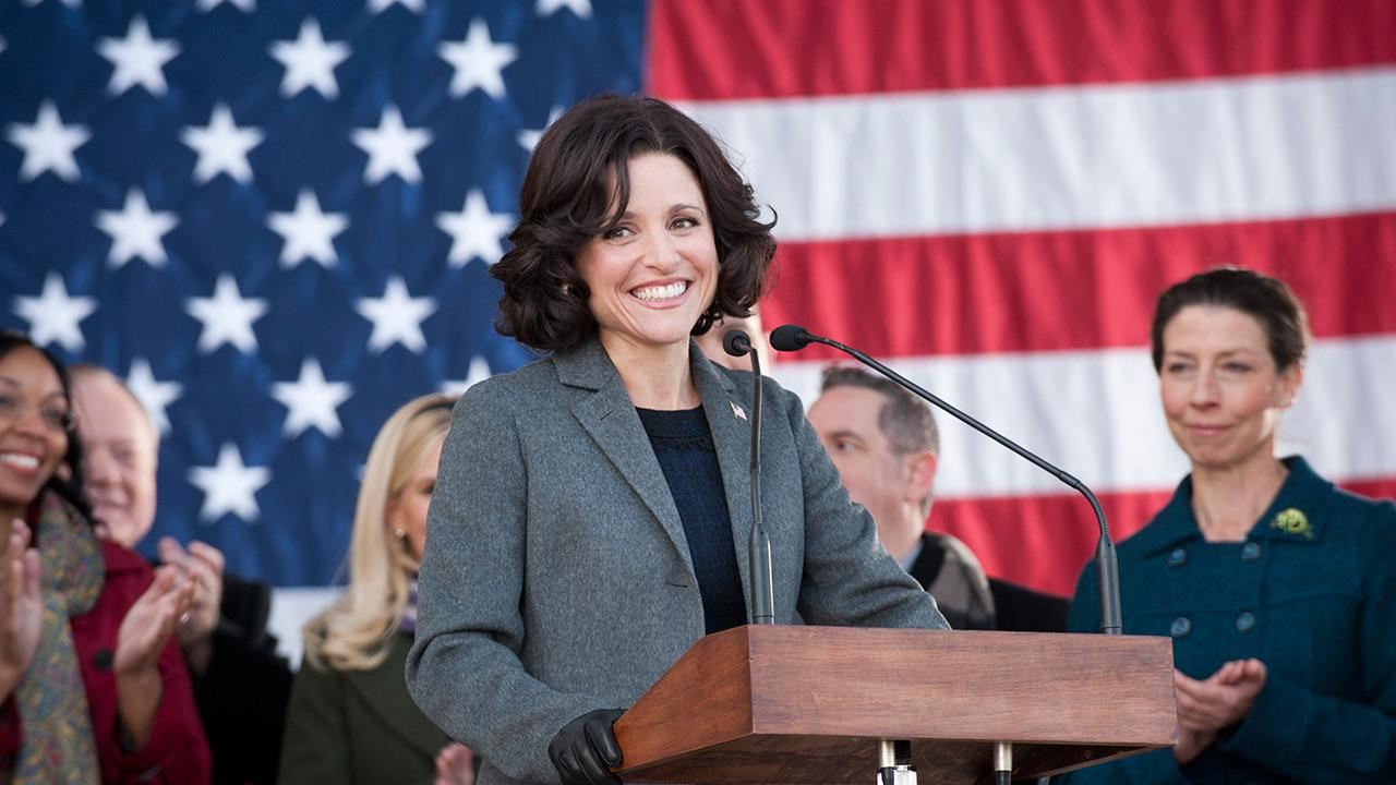 Julia Louis-Dreyfus appears in a scene from the HBO show Veep in 2013.
