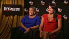 Greys Anatomy stars Sara Ramirez and Chandra Wilson talk to OTRC.com about in the upcoming 10th season on ABC. - Provided courtesy of OTRC