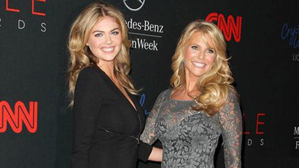 Kate Upton and Christie Brinkley appear at the 10th Annual Style Awards Kick Off during Mercedes-Benz Fashion Week in New York City on Sept. 4. - Provided courtesy of Amanda Schwab/Startraksphoto.com