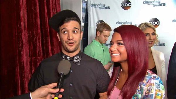 Christina Milian talks about competing on 'Dancing With The Stars' and meeting partner Mark Ballas. (September 2013)