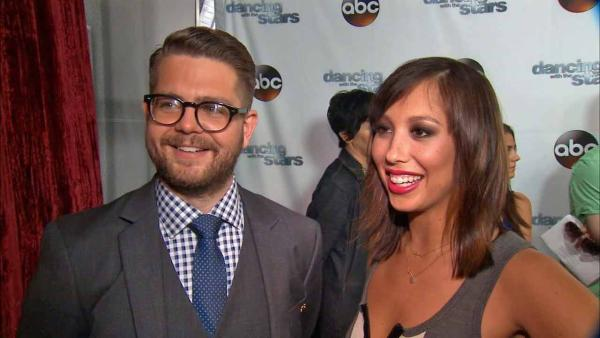 Jack Osbourne talks 'DWTS,' partner Cheryl Burke compares him to Rob Kardashian. (September 2013)