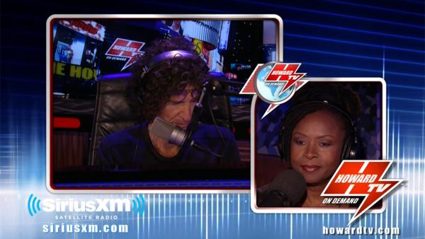Howard Stern and sidekick Robin Quivers (speaking remotely) appear on the Howard Stern Show on Sept. 9, 2013. - Provided courtesy of youtube.com/user/HOWARDTV / Sirius XM